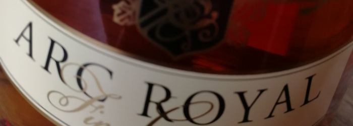 Aldi Arc Royal VS Cognac Titel