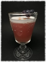 Fade to Black Cocktail