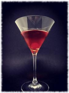 Sake Manhattan Cocktail