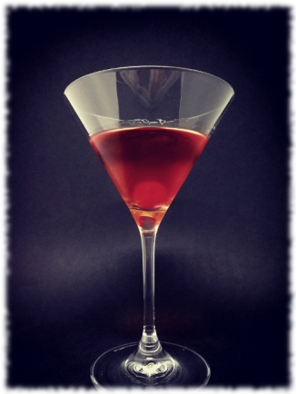 Sake Manhattan Cocktail