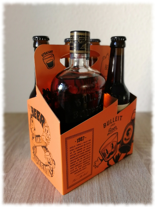 Bulleit Bourbon and Beer Tragerl