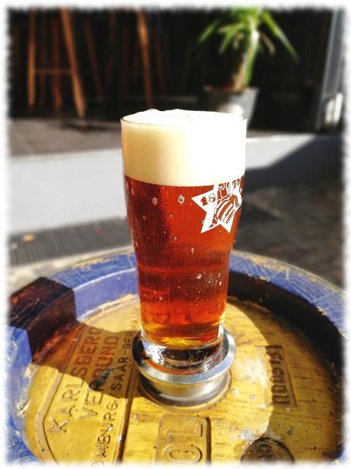 Karlsberg & Big Time Brewery Bock to Hell Glas
