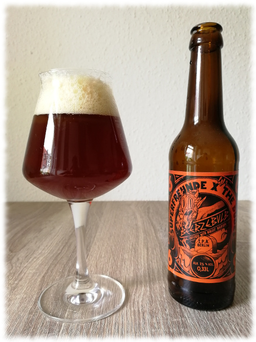 Superfreunde & The Dudes Beerzebulb IPA Infused with Bulleit Bourbon