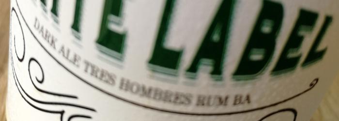 Brouwerij Emelisse White Label Dark Ale Tres Hombres BA Titel