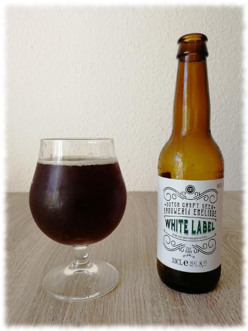 Brouwerij Emelisse White Label Dark Ale Tres Hombres BA