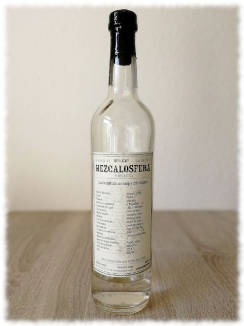 Mezcalosfera Espadín Destilado con Mango y Chile Habanero by Mezcaloteca