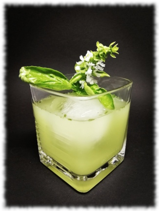 Tequila Basil Smash Cocktail