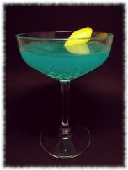 The Blue Train Cocktail