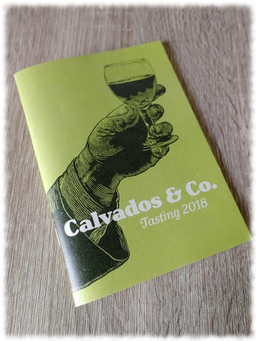 Cocktails & Dreams Forentreffen 2018 Calvados Booklet