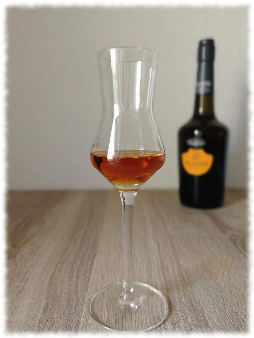Lecompte Calvados Pays d'Auge Age 12 Ans Glas