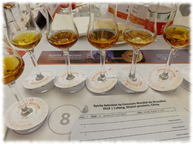 Spirits Selection 2019 Calvados XO Flight
