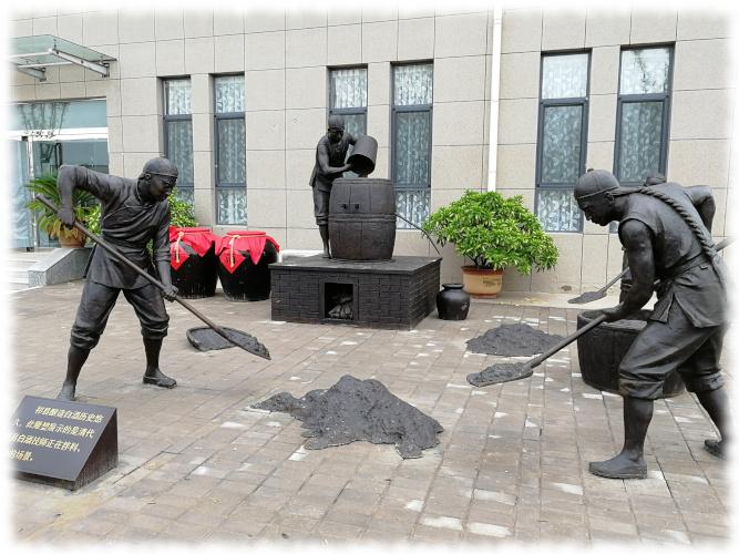 Spirits Selection 2019 - Besuch bei Redstar Statuen