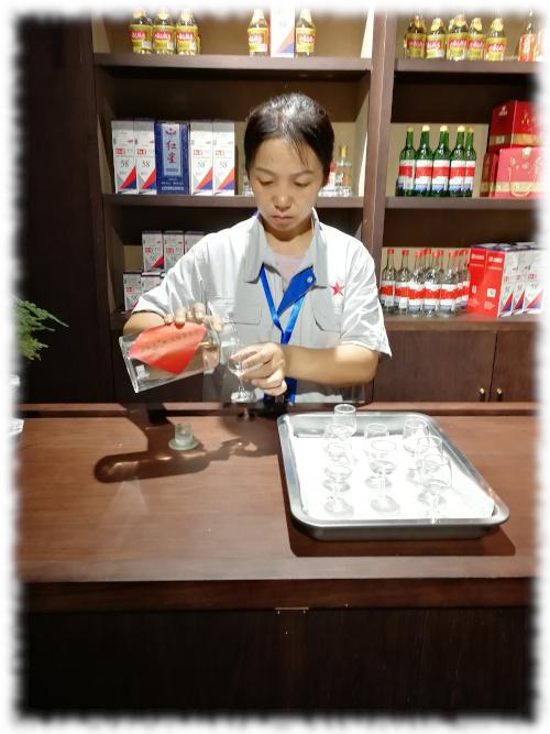 Spirits Selection 2019 - Besuch bei Redstar Verkostung ungereifter Baijiu