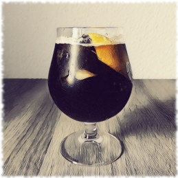 Black Refresher Cocktail