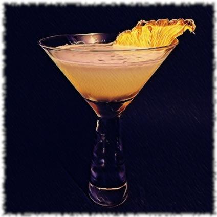 Ananas Agricole Daiquiri Cocktail