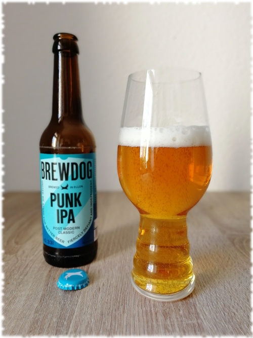 BrewDog Punk IPA Glas