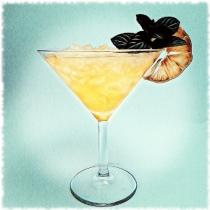 Tahitian Gold Cocktail