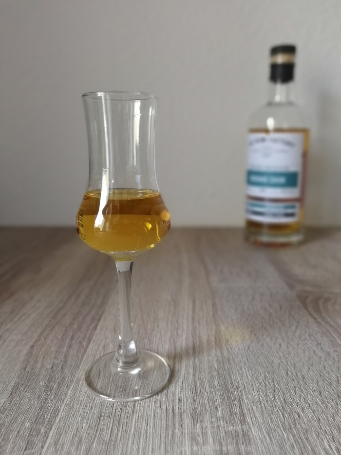 The Rum Factory Double Cask Collection Cognac Cask Glas