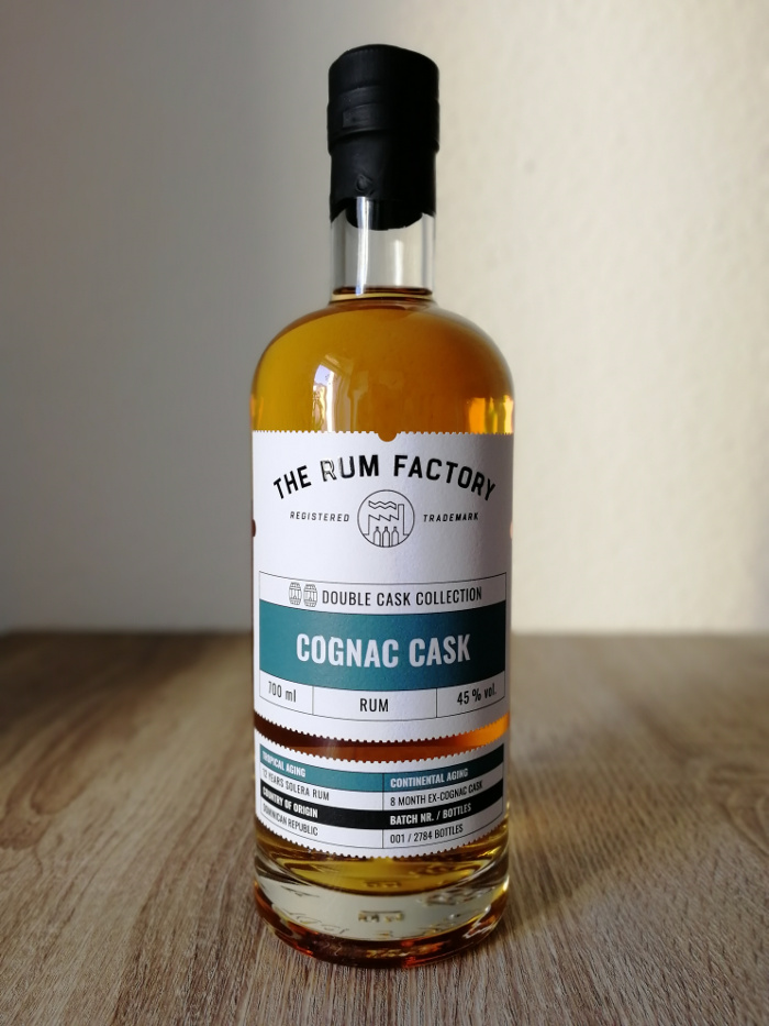 The Rum Factory Double Cask Collection Cognac Cask