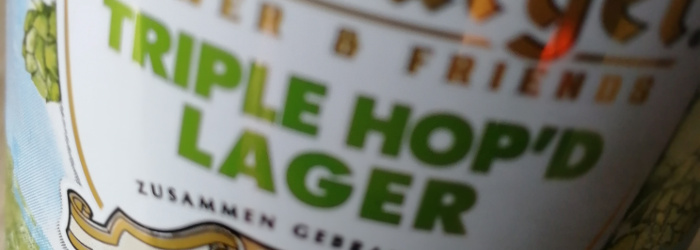 Bitburger/Sierra Nevada Triple Hop'd Lager Titel