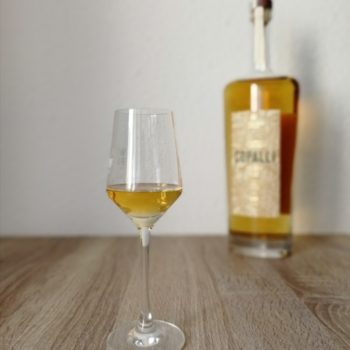 Copalli Barrel Rested Rum Glas