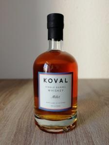 Koval Millet Single Barrel Whiskey Flasche