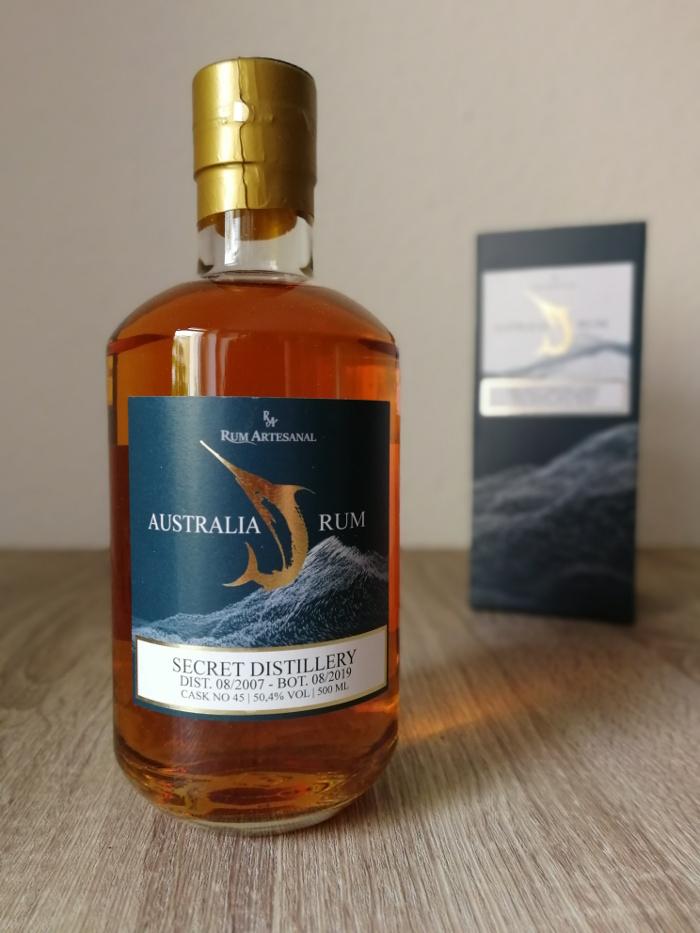 Rum Artesanal Australia Rum Secret Distillery