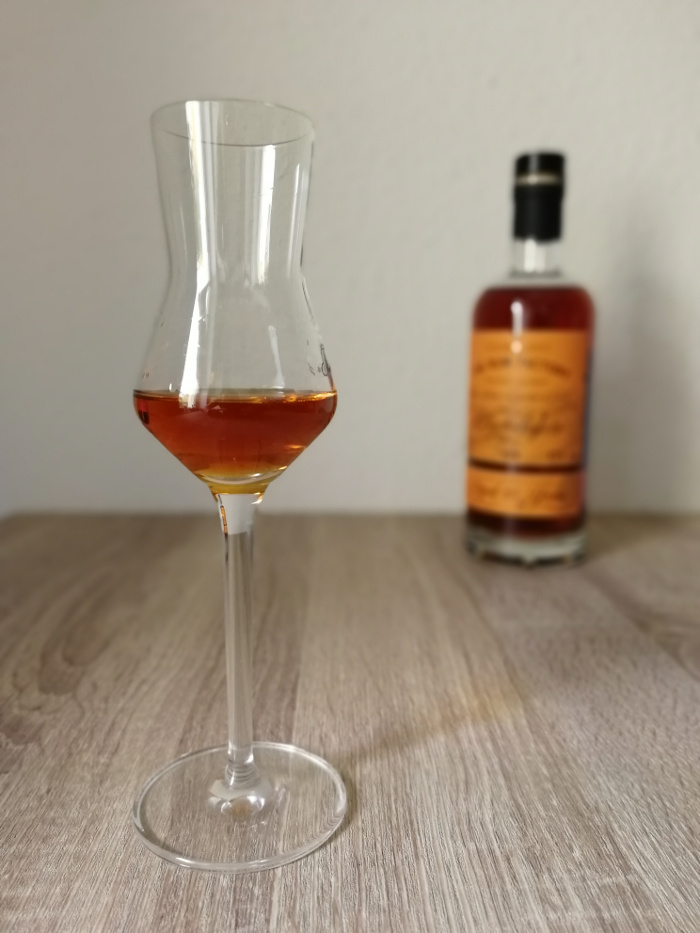 The Rum Factory Distillery Collection Aged 15 Years Glas