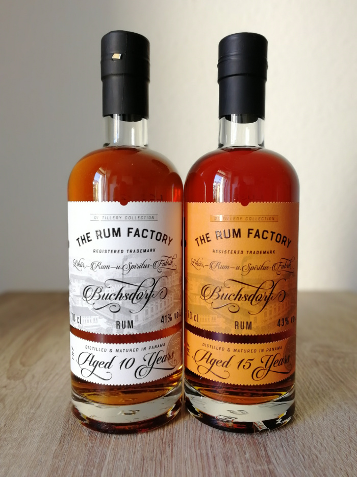 The Rum Factory Distillery Collection Panama Aged 10/15 Years