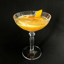Dantes in Fernet Cocktail