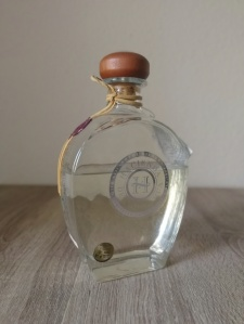 Hacienda de Chihuahua Sotol Silver Flasche
