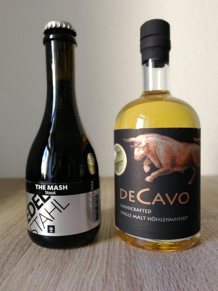 Märkische Spezialitätenbrennerei DeCavo Handcrafted Single Malt Höhlenwhisky & The Mash