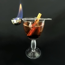 Black Stripe Cocktail
