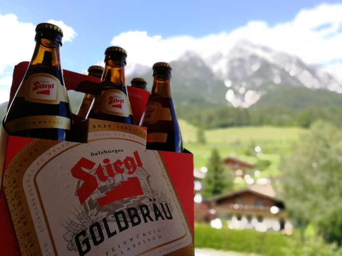 Stiegl Goldbräu in Leogang