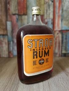 Stroh 80 Austria Inländer-Rum Alte Flasche