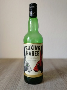 Boxing Hares Spirit Drink Flasche