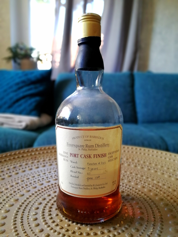 Foursquare Port Cask Finish Barbados Rum