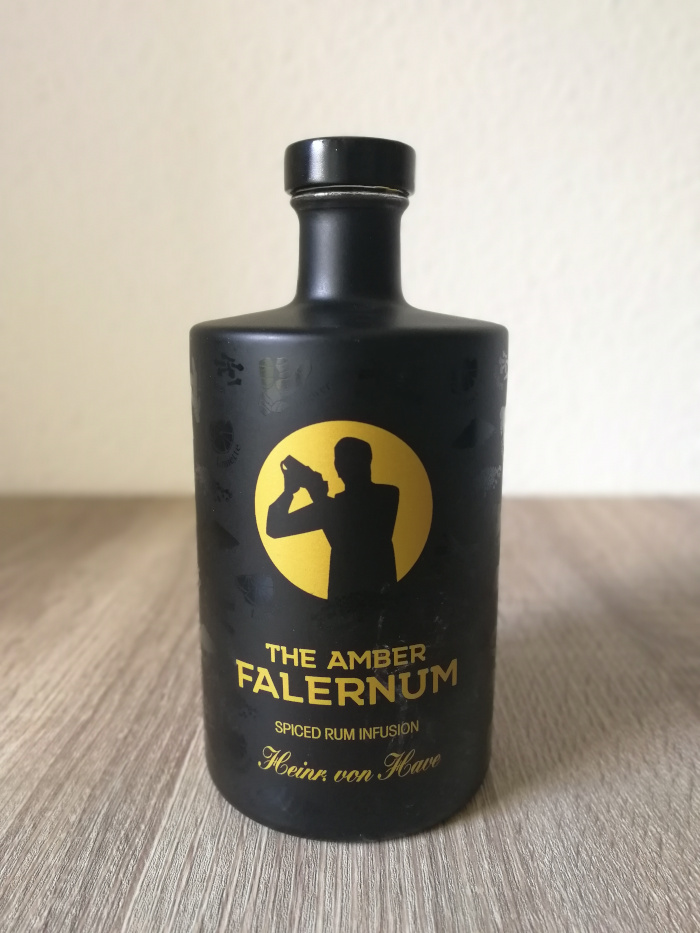Heinr. von Have The Amber Falernum Spiced Rum Infusion