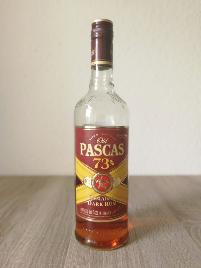 Old Pascas 73% Jamaica Dark Rum
