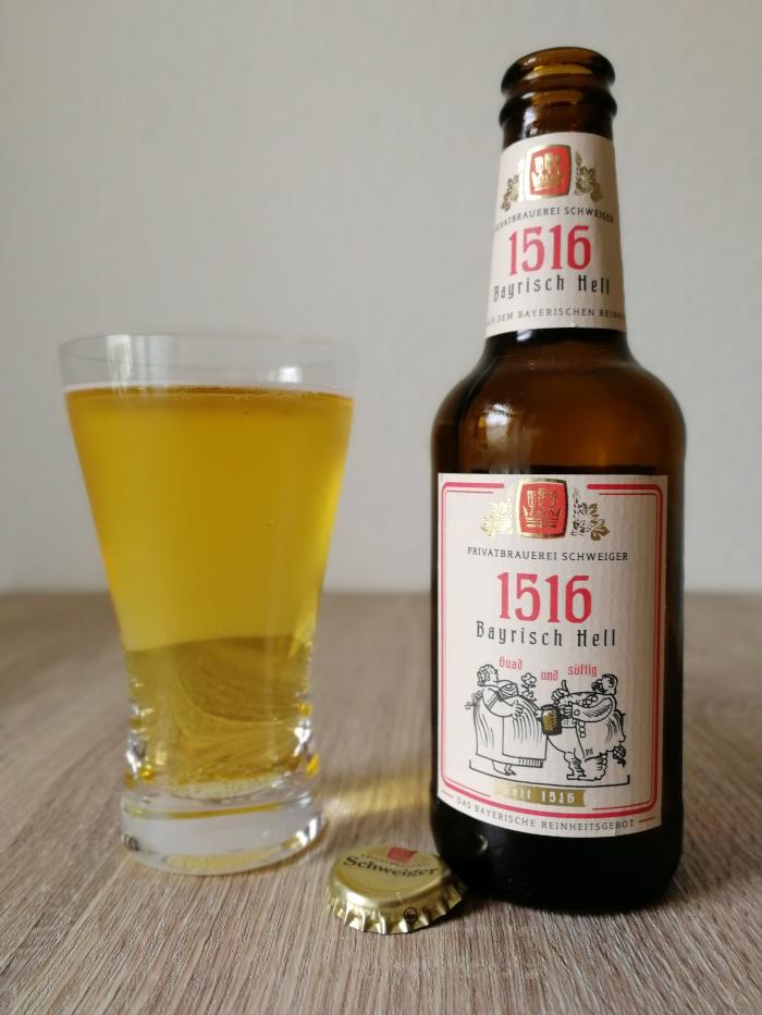 Privatbrauerei Schweiger 1516 Bayrisch Hell