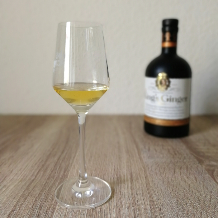 King's Ginger Liqueur Glas