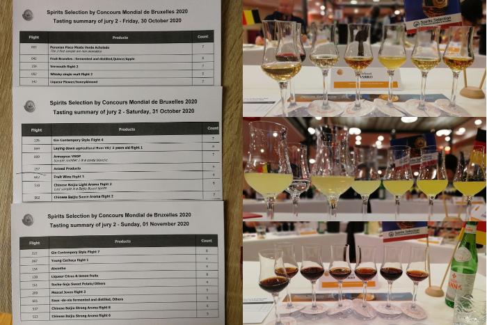 Spirits Selection by Concours Mondial de Bruxelles – Edition 2020 – Brüssel (Belgien) Tasting Flights 2