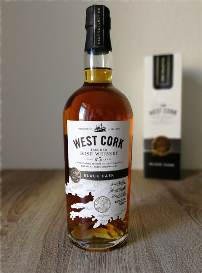 West Cork Blended Irish Whiskey Black Cask