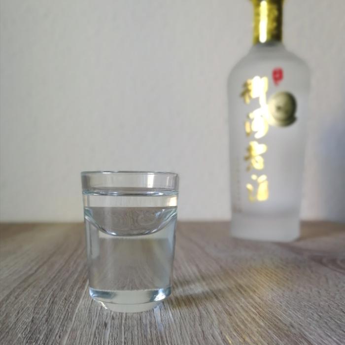 Yuhe Laojiu (御何老酒) Glas