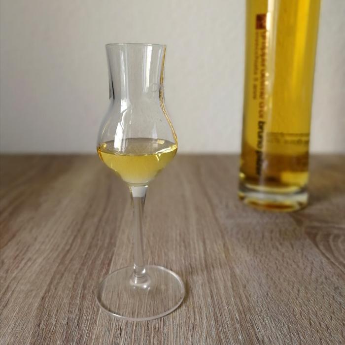 Bruno Pilzer Grappa Delmè d'Or Glas