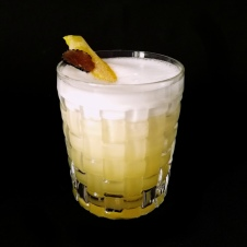 Truffled Boston Sour Cocktail