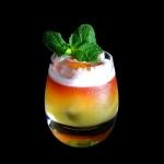 White Negroni PiñaColada Cocktail