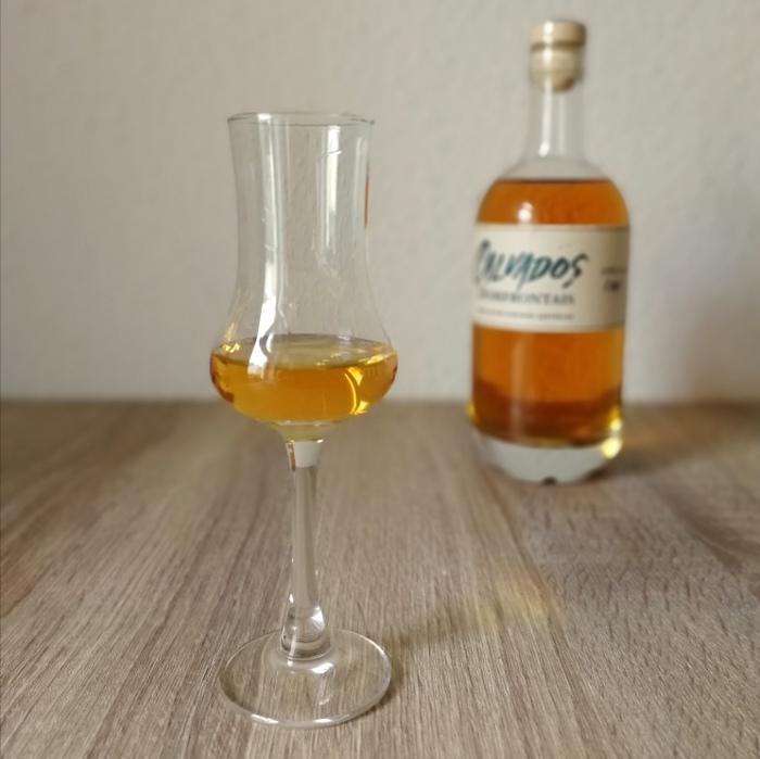 Pacory Calvados Domfrontais 100% Poire 8 Ans Glas