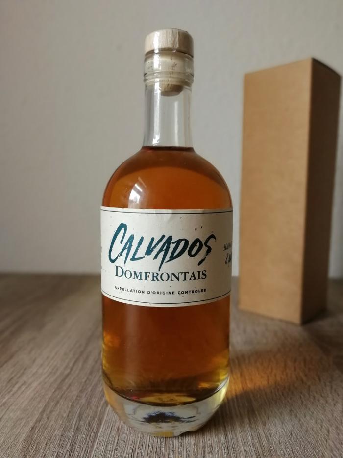 Pacory Calvados Domfrontais 100% Poire 8 Ans