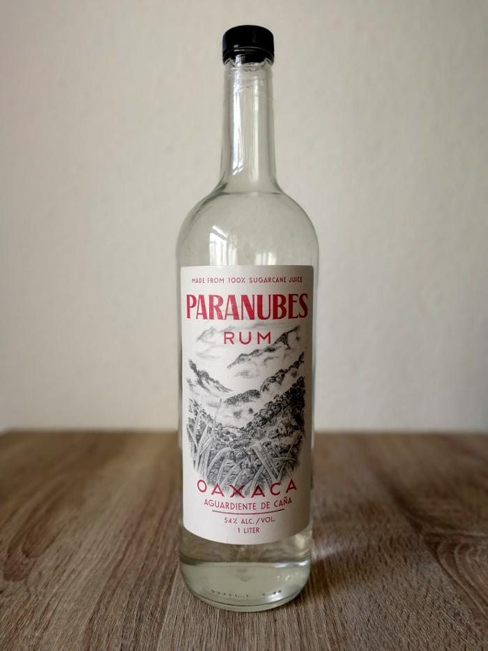 Paranubes Rum Oaxaca Aguardiente de Caña